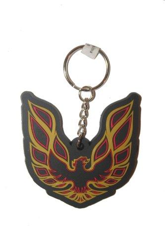 Pontiac Firebird Licensed Logo Silicone Keychain .. New