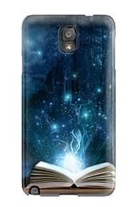 Galaxy Case - Tpu Case Protective For Galaxy Note 3- Magic Book wangjiang maoyi by lolosakes
