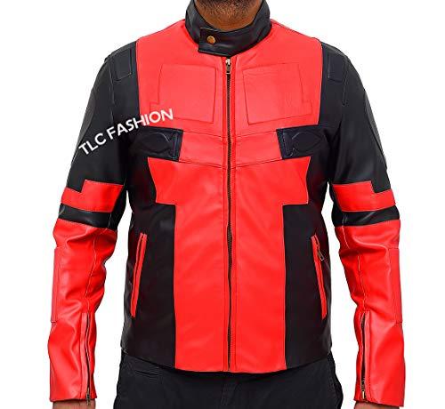 TLCFashion Deadpool 2 Jacket - Ryan Reynolds Dead Pool Costume Jacket