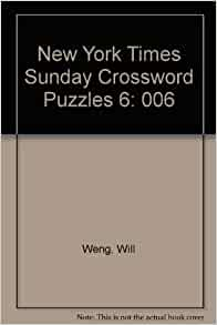 The New York Times Sunday Crossword Omnibus Volume World-Famous Sunday Fast Shipping· Read Ratings & Reviews· Shop Our Huge Selection· Explore Amazon Devices.