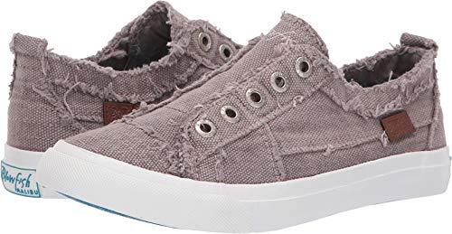 Blowfish Women's Play Sneaker (8.5 M US, Lavender Frost Martin Canvas) ()