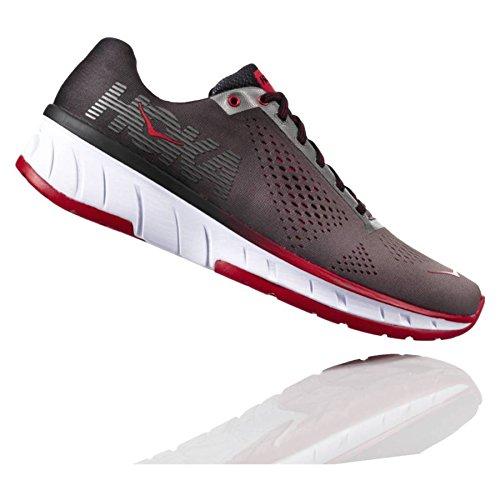 HOKA ONE ONE Mens Cavu Charcoal/Black Running Shoe – 11.5