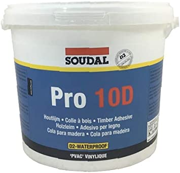 Soudal Pro 10 D Not Filled Pvac Dispersion Adhesive Wood Glue For Basic White Various Sizes Available Amazon Co Uk Diy Tools