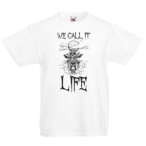 funny-t-shirts-for-kids-we-call-it-life-motorcycle-clothing-3-4-years-white-multi-color