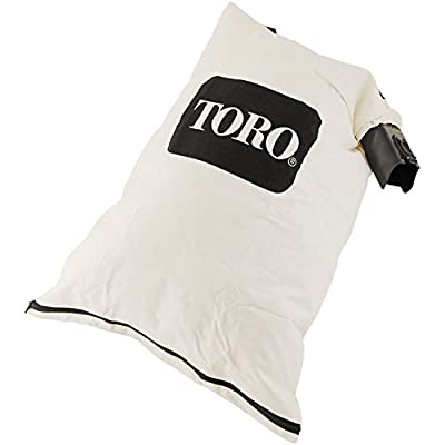 Genuine OEM Toro 127-7040 Blower Debris Vacuum Bag Replaces 108-8994 Fits 51436 51563 51581 51594 51599 51609 51619 51621