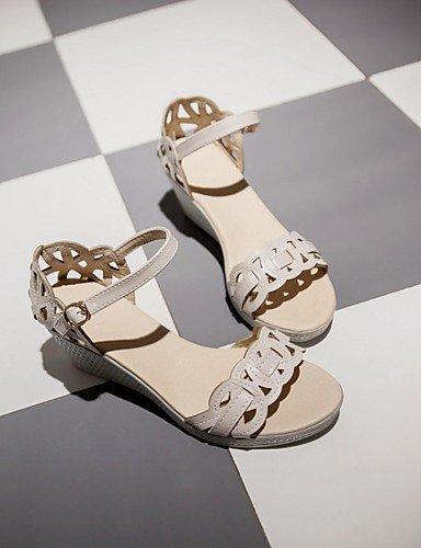 LFNLYX Zapatos de mujer-Tacón Plano-Cuñas / Comfort / Innovador / Botas a la Moda / Zapatos y Bolsos a Juego-Sandalias / Tacones-Boda / Oficina Pink