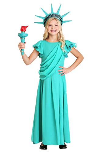 Girl's Statue of Liberty Costume -