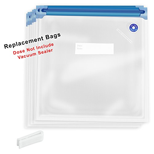 Gourmia GVS9950 - Replacement Bags Set - 15 Reusable Vacuum