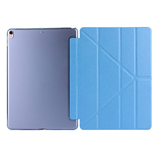 iPad Fall, happytop faltbar Magnetic Case leicht cover für iPad Pro 26,7cm 2017 himmelblau