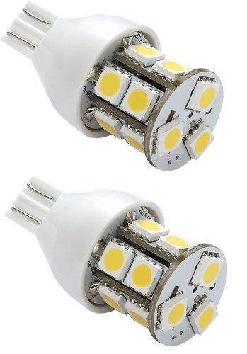 Gold Stars 92111802 Natural White LED Replacement Light Bulb (921/T15 Wedge base 120 Lumens 12v or 24v)