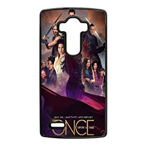 LG G4 Cell Phone Case Black Once upon a time QY7989193