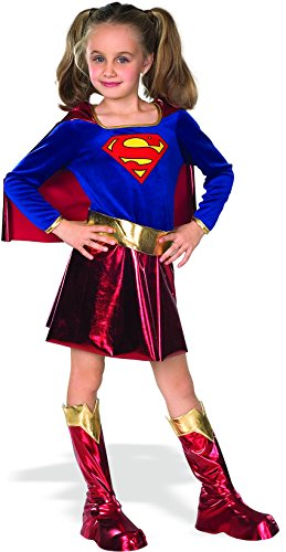 DC Super Heroes Child's Supergirl Costume, Medium