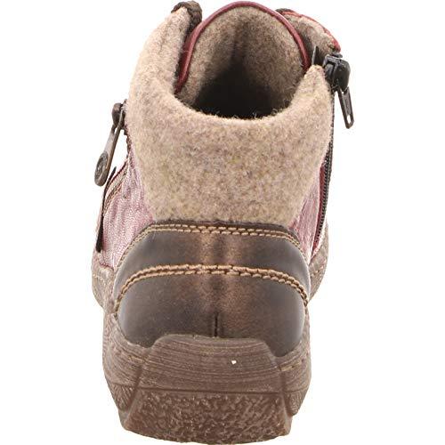 Schuhe in Halbschuhe Übergrößen Rot Remonte Damen qWt1ff