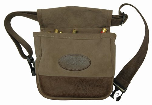 Boyt Plantation Shell Pouch, Large, Taupe