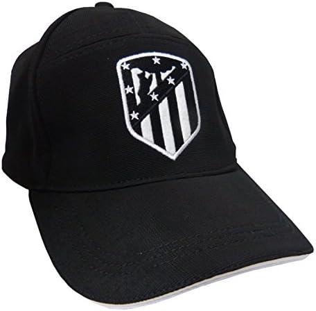 GORRA ATLETICO DE MADRID ADULTO NEGRA: Amazon.es: Deportes y aire ...