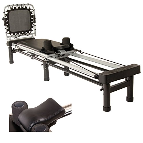 Stamina AeroPilates Reformer 266 with Rebounder & Stand, 3-Cord (55-4266) + AeroPilates Head & Neck Support Pillow for Reformers Review