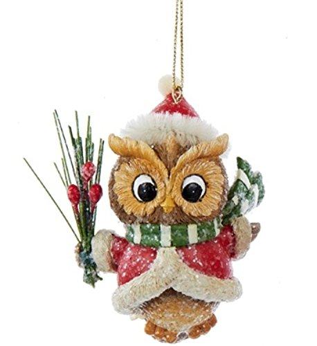 2.75 inch owl Santa