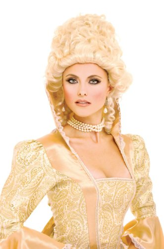 Kiss Costumes Women (Paper Magic Women's French Kiss Elouise Wig, Blonde, One Size)