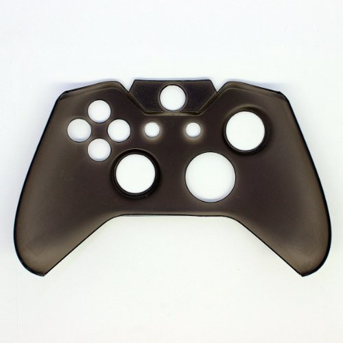 O'plaza® Translucent Hard Cover Skin Case Compatible with Microsoft Xbox One Controller, Black