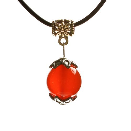 Limited Sales Promotion O-stone Wishing Bead Necklace Series Red Agate Pendant Grounding Stone ()
