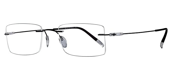 26a51233bf Eyeglasses Silhouette Dynamics Colorwave ( 5500 ) 9140 black 51 21 150 3  piece
