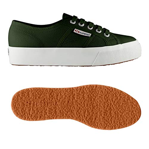 2730 Superga Donna Green cotu Dk Sneaker 8drzdx
