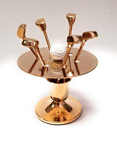 Deluxe Forks Golf Golden (Brass) ()