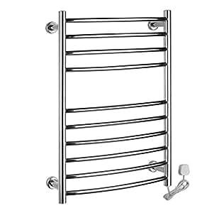 Montado en la pared de acero inoxidable el ctrico toallero for Calentador de toallas electrico