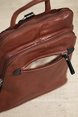 Macy Leather Backpack Purse by Overland Sheepskin Co (Image #5)