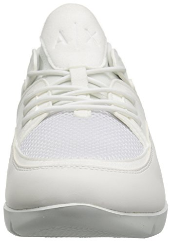 X A Exchange Armani Sneaker Bianco Detail Lowtop Mesh Athletic Men 11Rwqdx