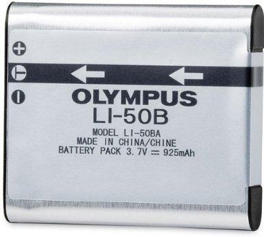 Olympus LI-50B LI50B Battery for VR-340 1010 1020 1030SW Tough 6000 6020 8000 8010 MJU 1010 1020 TG 610 620 630 810 XZ-1 ()