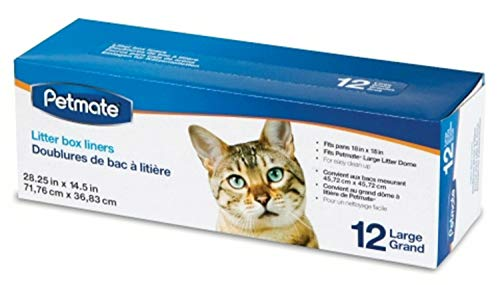 Booda Petmate Dome Liners, Large, 12 Count, 12 Pack