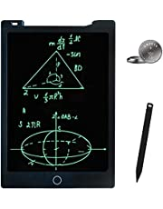 JONZOO LCD Writing Tablet 11 inches Erasable Handwriting Drawing Pad Electronic Notepad Doodle Board with Magnets Gift for 3Y+ at Home School Office (Black)