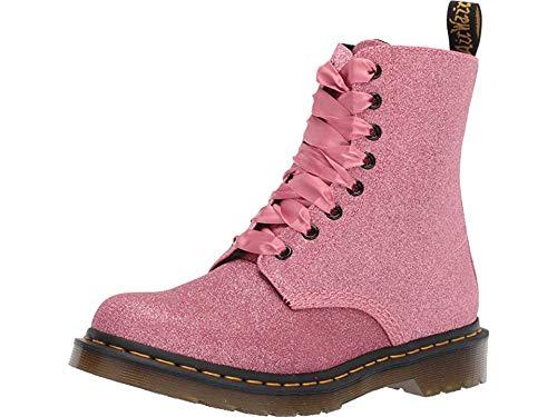 Pink Glitter Boots (Dr. Martens Women's 1460 Pascal Glitter Fashion Boot, Pink, 7 Medium UK (9)