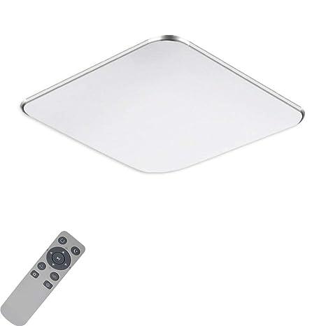 72W LED Ultraslim Deckenleuchte Dimmbar Wohnzimmer Badlampe Küche Wandlampe IP44