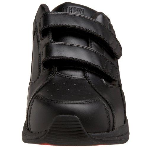 Trok Schoen Mens Kracht Klittenband Wandelschoen Zwart