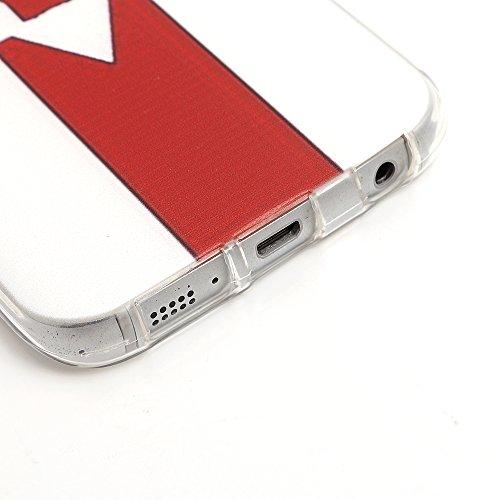 iProtect EM Schutzhülle Apple iPhone 6, 6s (4,7 Zoll) Flag TPU Soft Case Nordirland Flagge