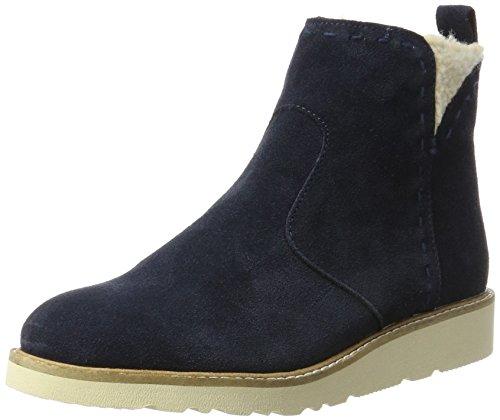 ESPRIT WoMen Kajal Bootie Boots Blue (Navy)