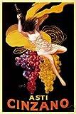 HSE Leonetto Cappiello (Asti Cinzano) Art Poster Print 36x24