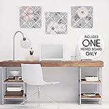 Sweet Jojo Designs Grey Watercolor Floral Fabric