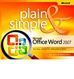 img - for [(Microsoft Office Word 2007 Plain and Simple )] [Author: J. Joyce] [Feb-2007] book / textbook / text book