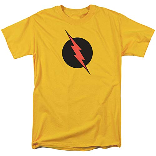 (DC Comics Reverse Flash T Shirt and Exclusive Stickers (Large))