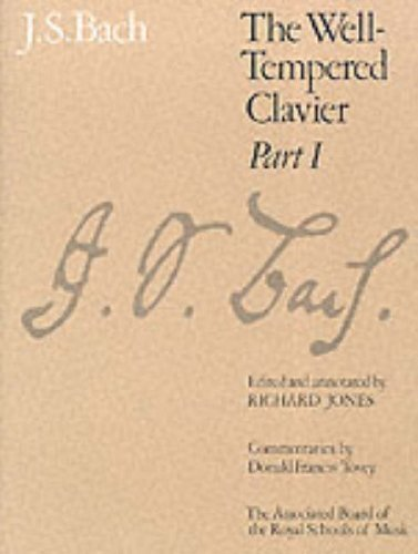 The Well-Tempered Clavier, Part I: [paper cover]: Pt. 1 (Signature Series (ABRSM)) by (1994-02-03)