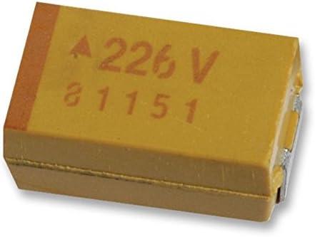500mOhm  TAJE227M016RNJ 10pcs SMD Tantal Cap 220uF 16V 20/% Case:E ESR