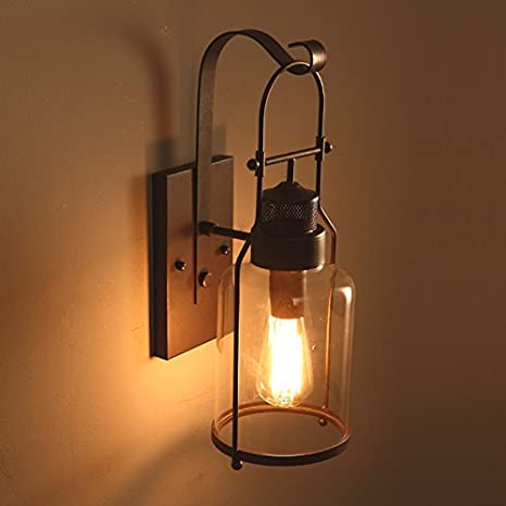 Avanthika E27 Wall Sconces Mounted Wall Lamps The Head of The Bed ...