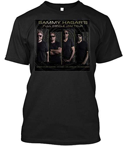 (Sammy Hagar and The Circle Tour 15 Tee|T-Shirt Black)