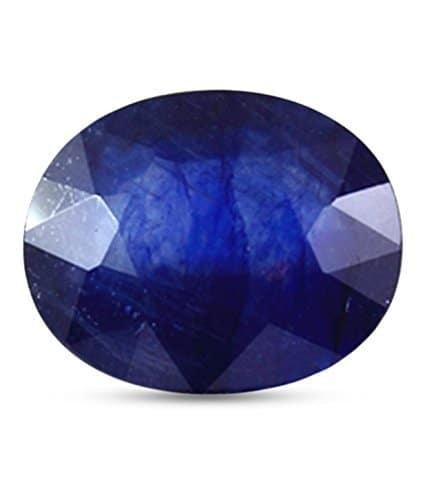 Getgemstones Blue Sapphire Stone Natural Certified Loose Gemstone 7.6 Carat
