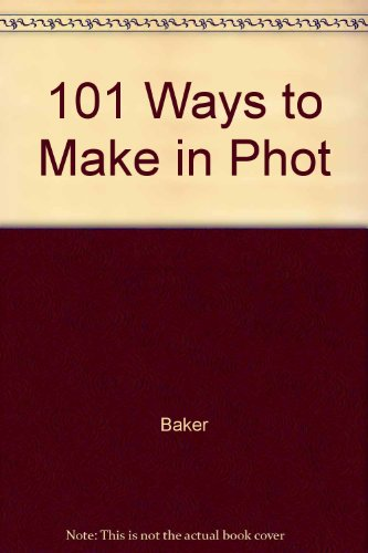 101 Ways to Make Money in Photography