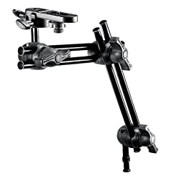 Manfrotto 396B- 2 2- Section Double Articulated Arm with Camera Bracket