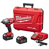 Milwaukee 2861-22 M18 FUEL Mid-Torque 1/2'' Friction Ring Impact Wrench Tool Kit